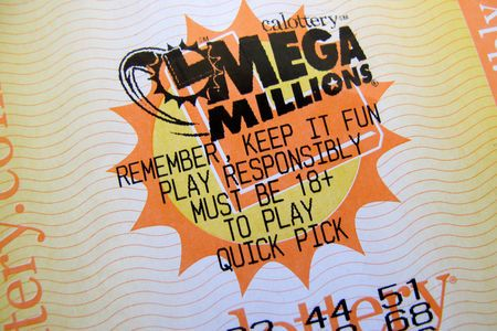 A lottery ticket for the current record breaking  $667 million U.S. Mega Millions jackpot is shown in this illustration photograph in Encinitas, California, U.S. October 16, 2018.  REUTERS/Mike Blake