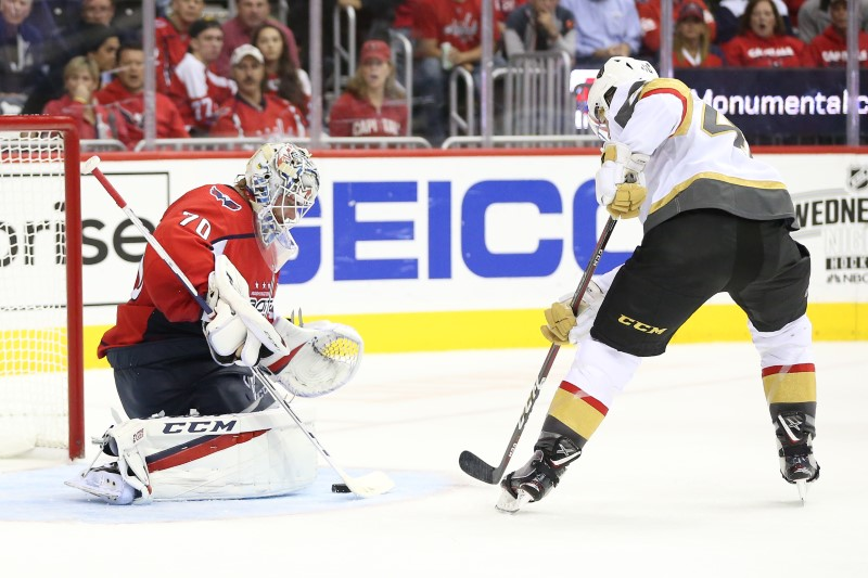 © Reuters. NHL: Vegas Golden Knights at Washington Capitals