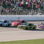 NASCAR notebook: Larson falls short