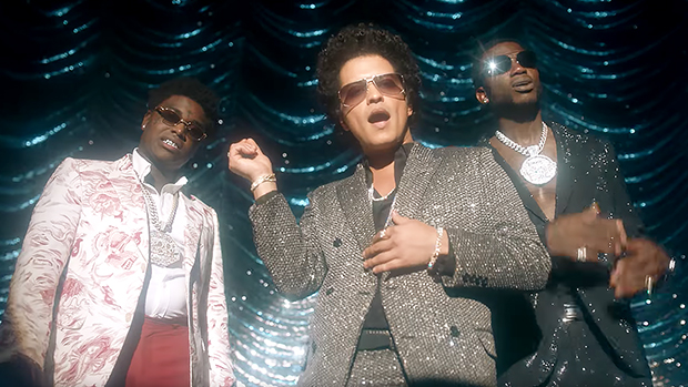 Bruno Mars Transforms Into Michael Jackson In Sparkly, Glitter Suit
