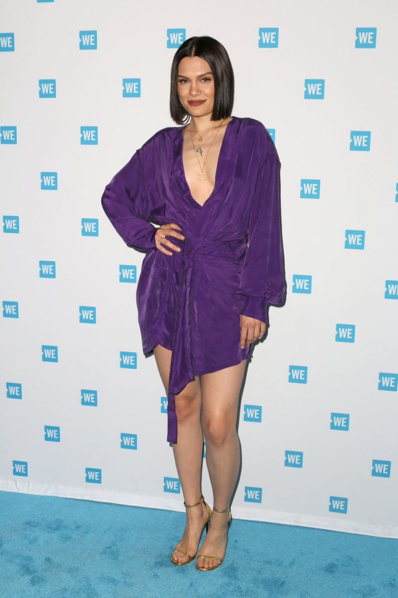 LOS ANGELES, CA - APRIL 26: Singer-songwriter Jessie J attends We Day California 2017 Cocktail Reception at NeueHouse Hollywood on April 26, 2017 in Los Angeles, California. (Photo by Tasia Wells/Getty Images)