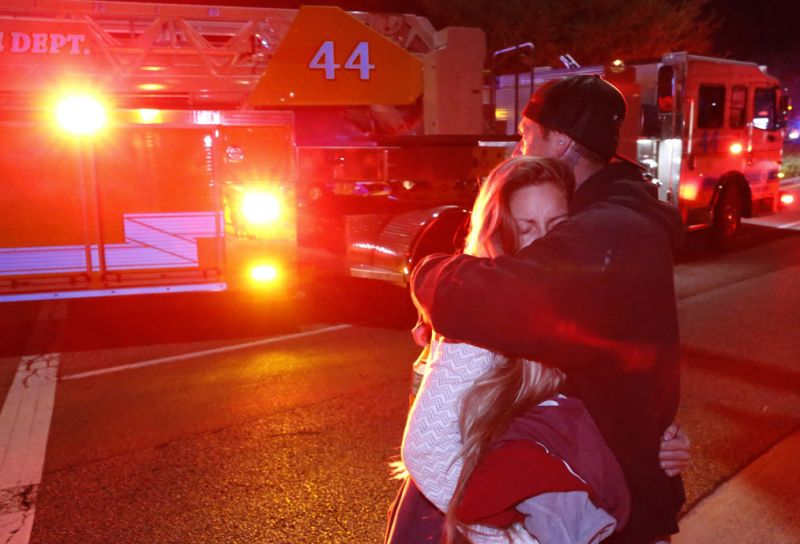 Less Than 24 Hours After Woman Survives Borderline Bar Shooting, California Wildfires Destroy Her Home