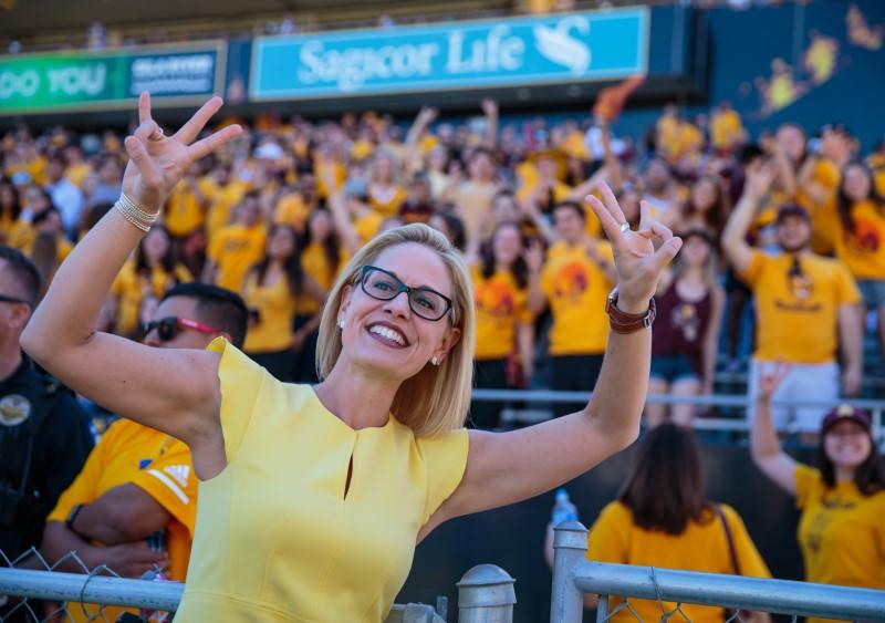 © Reuters. NCAA Football: Utah at Arizona State