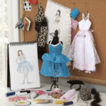 This crafty, creative holiday gift lets kids try their hand at fashion design