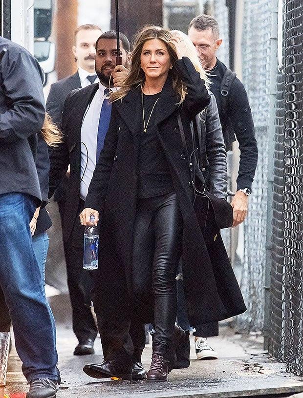 Jennifer Aniston leather pants