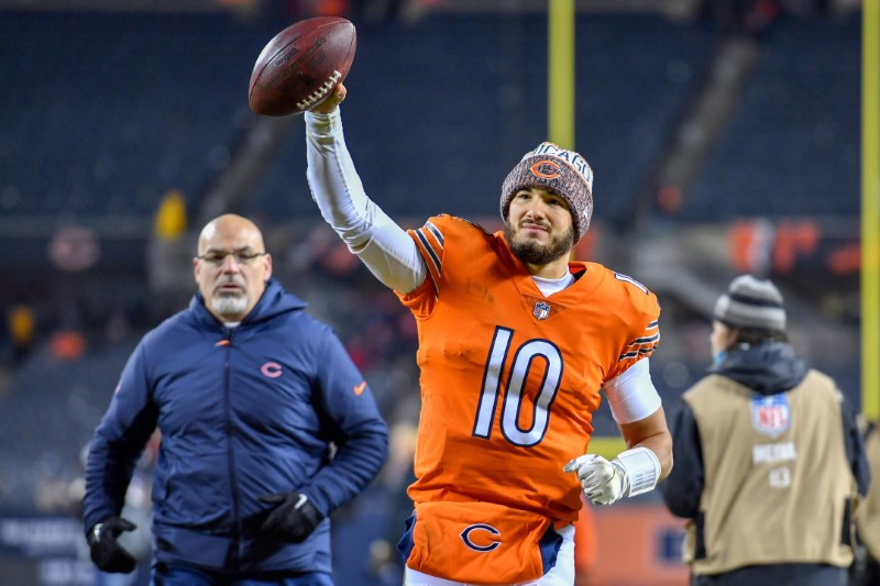 © Reuters. NFL: Minnesota Vikings at Chicago Bears