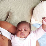 Gabrielle Union Cuddles Newborn Baby Kaavia During 1st Xmas As A Mom — Adorable Pic