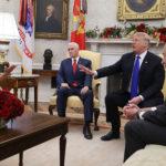Nancy Pelosi, Chuck Schumer and President Trump Verbally Spar on Live TV