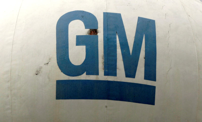 © Reuters. The GM logo is seen at the General Motors headquarters in Sao Caetano do Sul