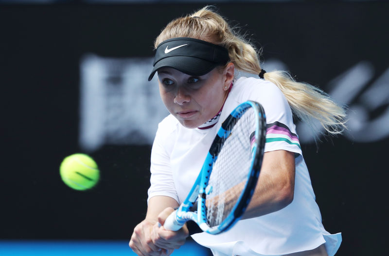© Reuters. Tennis - Australian Open - Fourth Round