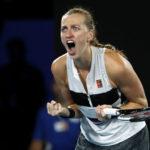 Kvitova pushed hard in first match since Australian Open