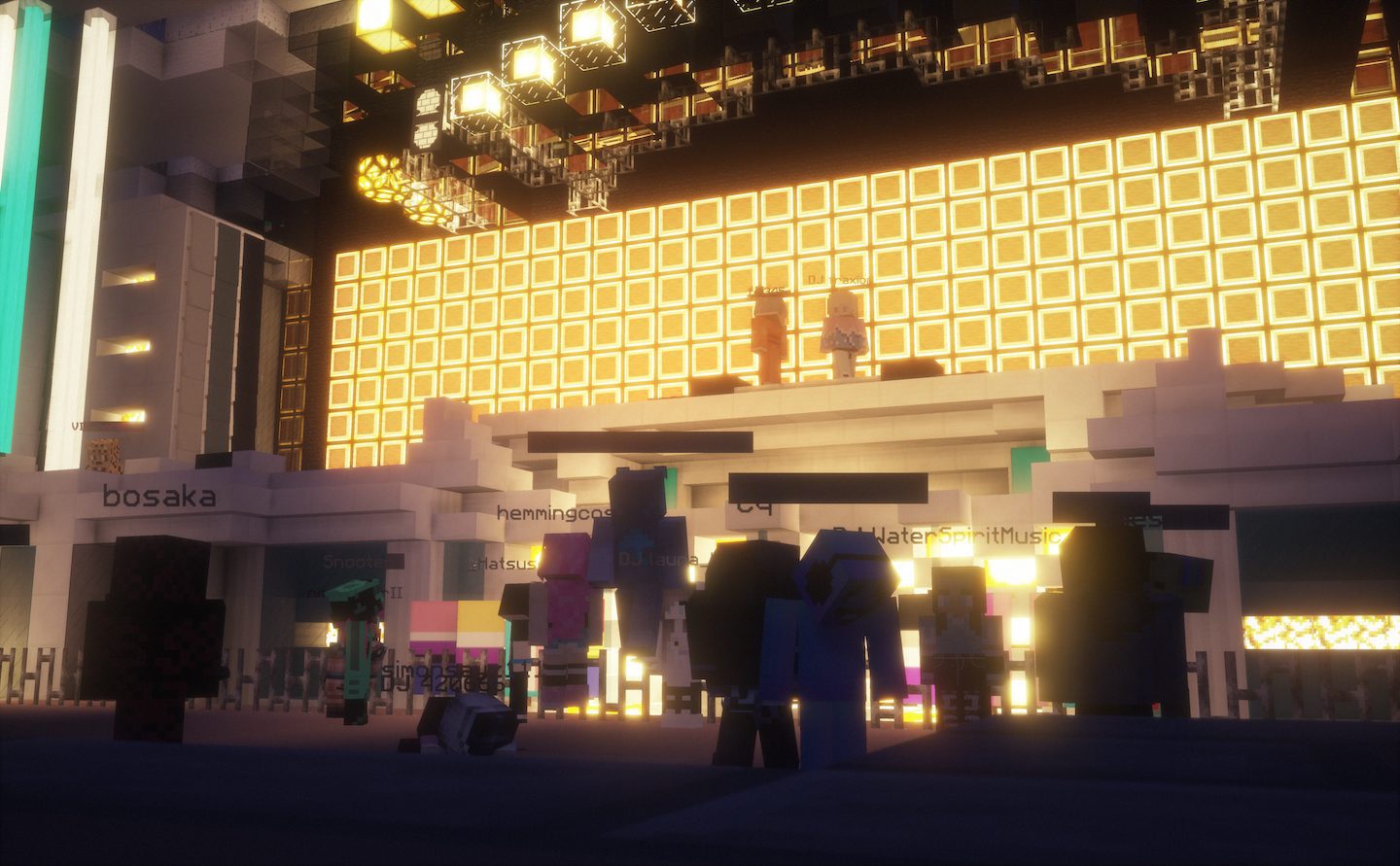 The Best New Music Festival Is in 'Minecraft' | e-Radio USa