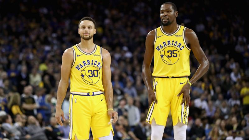 Warriors' Durant on Curry: He's a once-in-a-generation, once-in-a-lifetime talent