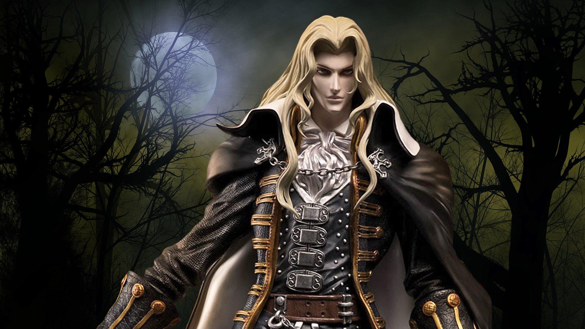 Castlevania Symphony Of The Night Alucard Twilight Edition Statue
