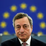 ECB would welcome euro zone budget: Draghi