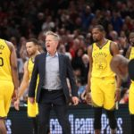NBA fines Kerr for confrontation with ref