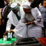 Nigeria's president and main rival confident as polls close