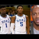 RJ Barrett could be No. 1 pick over Zion Williamson in 2019 NBA draft – Jay Williams | Get Up!