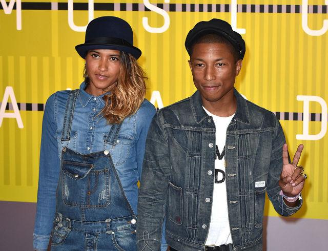 Pharrell and wife
