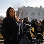White House spokeswoman Sanders says she was interviewed in Russia probe