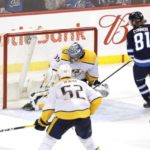 NHL roundup: Connor bags hat trick, Jets clinch playoff spot