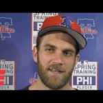 Bryce Harper pokes fun at himself for D.C. comment in Phillies introductory news conference | MLB
