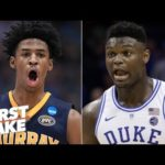Ja Morant will be drafted right behind Zion Williamson – Max Kellerman | First Take