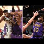 LeBron James, Giannis Antetokounmpo have dunk fest as Bucks beat Lakers | NBA Highlights