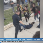 Police officer under investigation for throwing teen girl to the ground at school