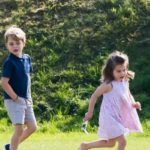 Prince George and Princess Charlotte Are Mastering Their First Competitive Sport