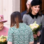 Queen Elizabeth II & Kate Middleton Make a Cute Team on a Rare Public Outing Together