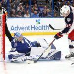 NHL roundup: Jackets shock Lightning again