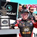 Reddick deals with adversity, wins Talladega Xfinity race