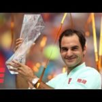 Roger Federer neutralizes John Isner for his 4th Miami Open Title | 2019 Miami Open