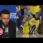 Steph Curry, Steve Kerr and Warriors players react to DeMarcus Cousins' injury in Game 2 | NBA Sound