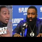 James Harden doesn't matter vs. the Warriors because the Rockets will lose – Stephen A. | First Take