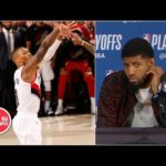 Paul George on Damian Lillard game-winner: 'bad shot' Thunder have to live with | 2019 NBA Playoffs