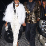 Gabrielle Union & Dwyane Wade Hold Hands While Rocking Sparkly Outfits For His Retirement Party