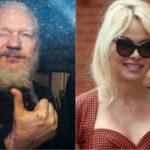 """Pamela Anderson claims that Julian Assange's arrest is """"UK's diversion from idiot Brexit bullshit"""""""