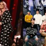 """Halsey says dancing with BTS in 'Boy With Luv' music video was """"very intimidating"""""""