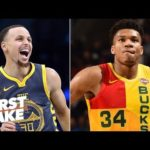 Giannis would be better than Steph Curry, KD in the NBA Finals – Max Kellerman   First Take
