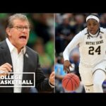 Notre Dame outlasts UConn, advance to the championship game | College Basketball Highlights