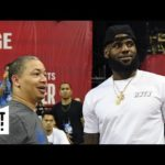 The Lakers need an experienced coach to handle an aging LeBron James – Brian Windhorst | Get Up!