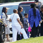 Lauren London & Sons Attend Nipsey Hussle's Burial In Forest Lawn Cemetery — See Pic