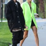 8 Celebs Rocking Neon For Spring: Hailey Baldwin & More Try The Bold Look — Pics