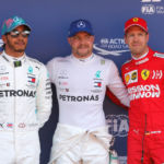 Motor racing: Bottas on pole in Spain for third race in a row