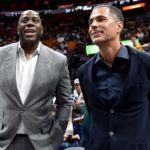 Magic Johnson: Lakers GM Pelinka was backstabber