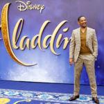 Will Smith goes from fear to joy as Aladdin's new genie