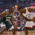 Lowry, Raptors down Bucks, level East finals
