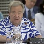 UN leader travels to Pacific to see climate change firsthand